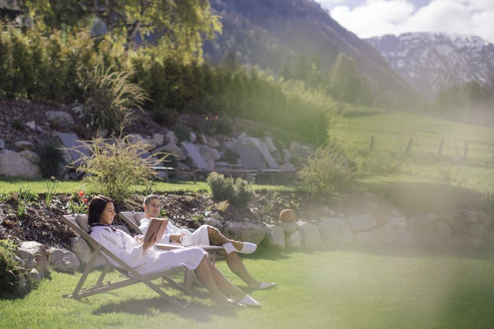 Spa pleasures directly in Reschen at the lake. Eden.